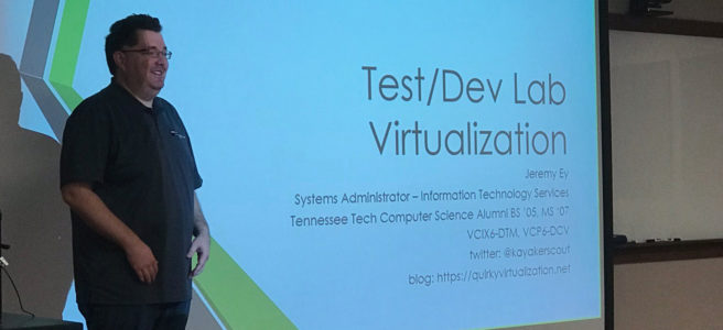 tennessee tech acm student chapter virtualization presentation